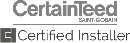 Certainteed Saint gobain certified installer
