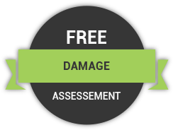 free roofing damage assessment