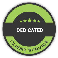 dedicated client service