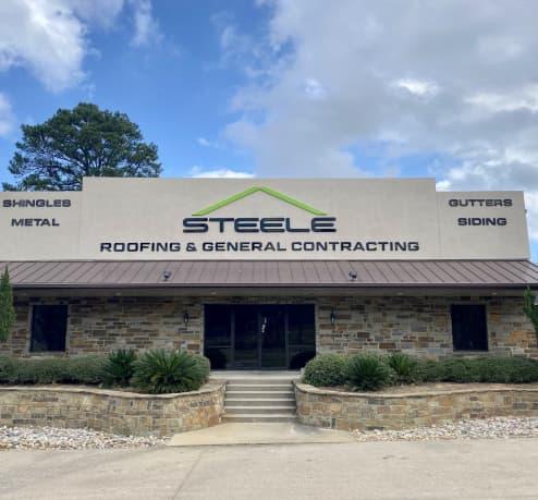 Steele roofing & general contractor building